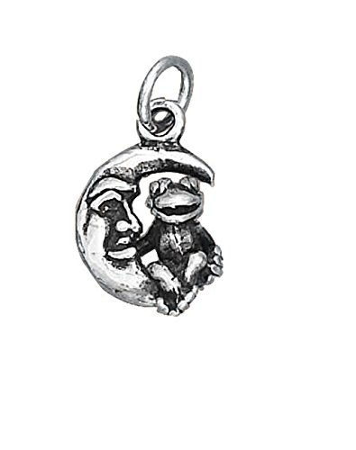 sterling-silver-20-boys-12mm-box-chain-3d-small-frog-sitting-on-a-crescent-moon-face-animal-pendant-