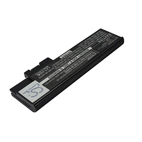 LNTSFE-n Laptop Battery 4400mAh/65.12Wh 14.8V Notebook Laptop Battery for ACER 4UR18650F-2-QC218 BT.00803.014 LC.BTP01.013 LC.BTP01.014 Laptop Replacement Battery