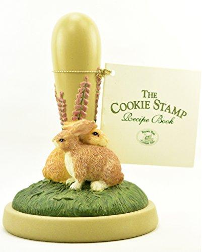 Brown Bag Cookie Art Stamp BUNNIES #38 Decorative Handle and Booklet