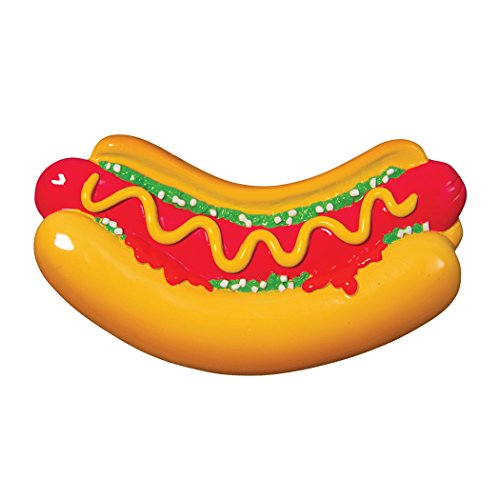 Personalized Hot Dog Christmas Tree Ornament 2019 - Delicious American Sausage Patty Bun Lover Favorite Chef Eat Fast BBQ Baseball Giants Game Street-Food New York Gift Year - Free Customization (Best Hotdog In Chicago 2019)