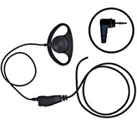 IMPACT D Ring Loop Style Earpiece Mic for Hytera PD362 PD352 Radio