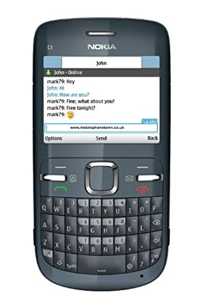 Mobile phones with an integrated hardware keyboard