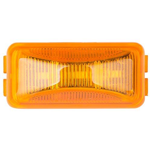 (Lumitronics RV Mini Thin Line 37 Series Sealed LED Marker Light (Amber))