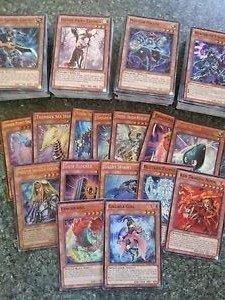 10 Yugioh Cards - Guaranteed 2 RARES/HOLOGRAPHICS - Chance At Blue Eyes White Dragon, Blue Eyes Ultimate Dragon, & Blue Eyes Shining Dragon Blue Eyes Ultimate Dragon Card