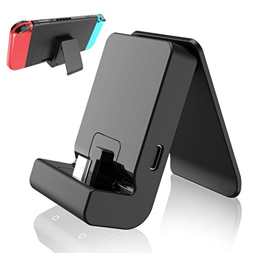 momen Switch Dock for Nintendo Switch/Switch Lite, Portable Switch Docking Stand Switch Charging Dock Holder Mount Type…