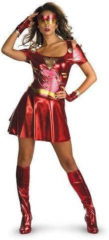 Desconocido Disfraz de Iron man sexy para mujer: Amazon.es ...