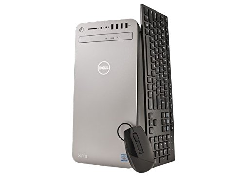 2017 Dell XPS 8920 Flagship Premium High Performance Tower Desktop PC, Intel i7-7700 Quad-Core 3.6GHz, AMD Radeon RX 560, 16GB DDR4, 1TB 7200RPM HDD, Bluetooth, 802.11ac, DVD+/-RW, HDMI, Windows 10
