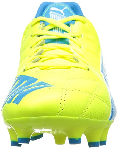 Yellow 4 Fg 04 Lth Uomo Evospeed Calcio Da Scarpe Blue 3 gelb atomic safety Giallo white Puma qCw7Epn