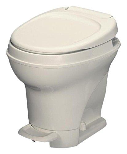 Thetford 31672 Aqua-Magic V Toilet, High / Pedal Flush / Parchment (Flush Toilet)