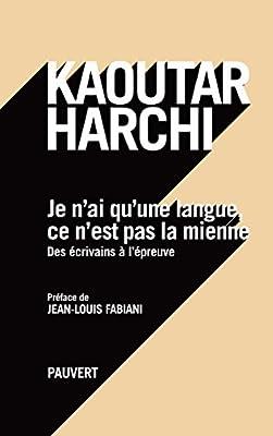 Buy Je N Ai Qu Une Langue Ce N Est Pas La Mienne Book Online At Low Prices In India Je N Ai Qu Une Langue Ce N Est Pas La Mienne Reviews Ratings Amazon In