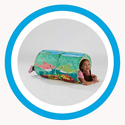 41hpjGsHj5L - Playhut Pinkfong Baby Shark Explore 4 Fun Pop-Up Play Tent Preschool Gift for Kids - Amazon Exclusive