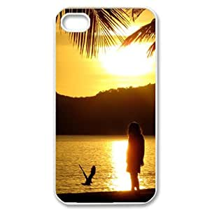 Brand New Custom Hard Cover Case with Sunshine for Iphone 4/4S at Hushell