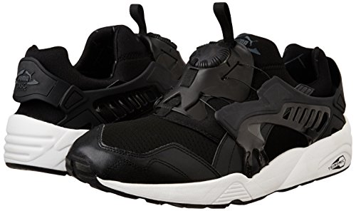 Puma DISC BLAZE-UP CORE Zapatillas Sneakers Negro para Hombre Trinomic