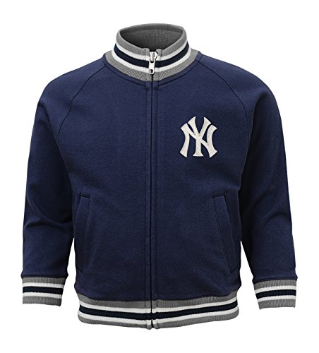 MLB  New York Yankees Toddler Boys Baseball Run Track Jacket-2T