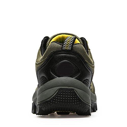 Baskets Imperméable Chaussures Respirant Randonnée De Vert Paragon Homme Securite Sports Montantes 01 Plates Confortable Bottes Lacées Et FYq4Fw1zn