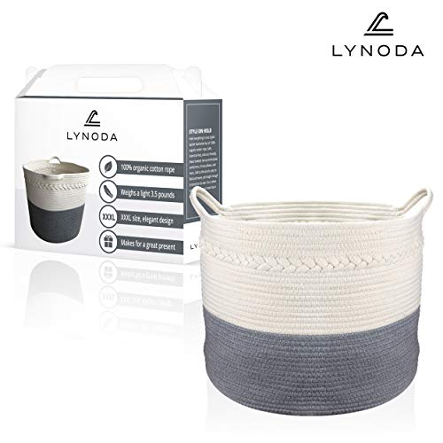 Cotton Rope Basket - Wide 21