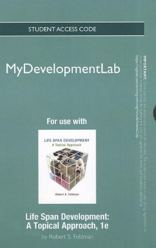 NEW MyDevelopmentLab -- Standalone Access Card -- for Life Span Development: A Topical Approach (Mydevelopmentlab (Acces