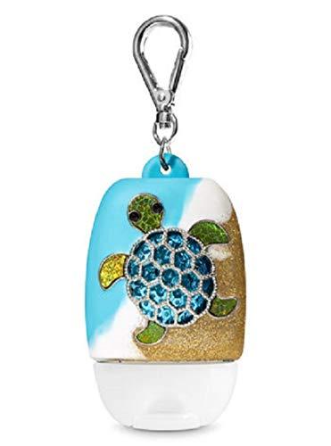 Bath Body Works PocketBac Hand Gel Holder Sequin Turtle