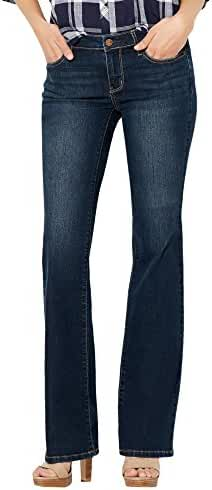 New York & Co. Soho Jeans - Curvy Bootcut - Flawless Blue Wash - Petite