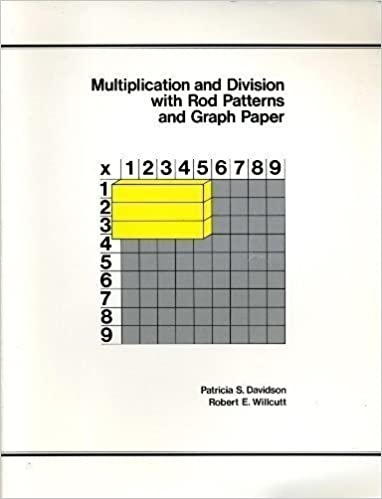 multiplication division with rod patterns graph paper patricia s davidson robert e willcutt 9780914040828 amazoncom books
