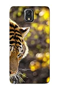Defender Case With Nice Appearance (tiger ) For Galaxy Note 3 / Gift For New Year's Day