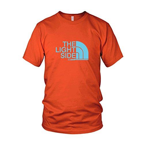 The Light Side - Herren T-Shirt, Größe: L, Farbe: orange