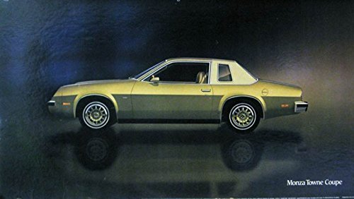 1977 Chevrolet Monza Towne Coupe Showroom Poster - Towne Coupe