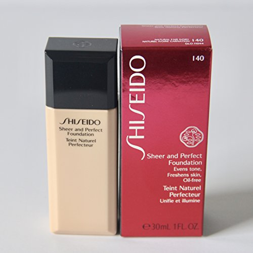 Shiseido Sheer and Perfect Foundation I40 Natural Fair Ivory (Shiseido Foundation Sheer)