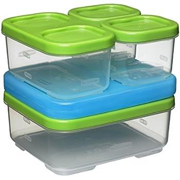 Rubbermaid LunchBlox Sandwich Kit, Green 1806231