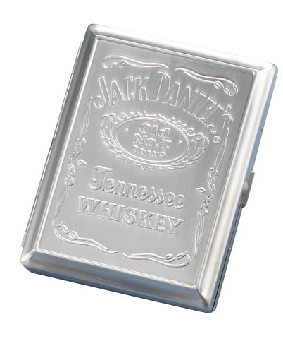 Jack Daniels Licensed Barware 8464 Label Case, standard, Silver