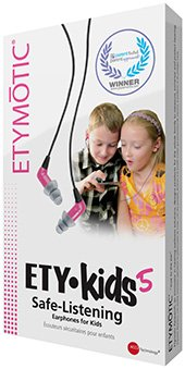 Etymotic Research EREK-3-BLACK EtyKids Safe-Listening Headset