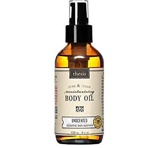Organic Body Oil - Unscented - Mother, Baby, Sensitive Skin from Thesis Beauty