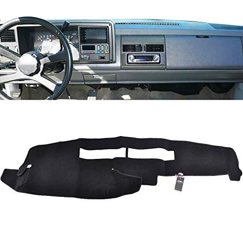 XUKEY Dashboard Cover for Chevrolet Silverado C1500 C2500 C3500 K1500 K2500 K3500 1988-1994 Dash Cover Mat