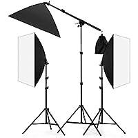 Lightdow 20x28 Softbox Continuous Lights Photo Studio Youtube Vlog 600W Lighting Bundle (Model Number: LD-TZ002)