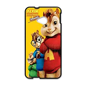 Alvin and the Chipmunks HTC One M7 Cell Phone Case Black Handp