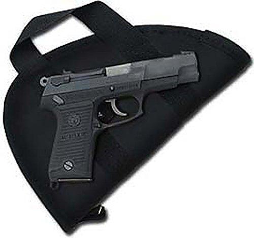 Colt 1911 & Clones Pistol Case / Pistol Rug With Handle ( Fits Similar size semi- autos) - Made in (Handle Pistol Case)
