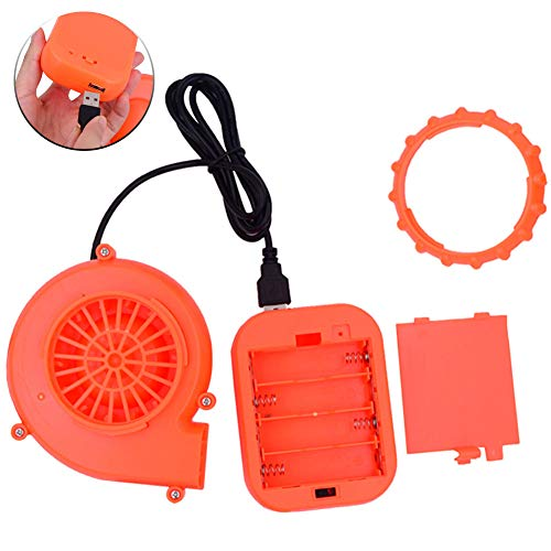 ZISUEX USB Mini Fan Blower Potable Inflatable