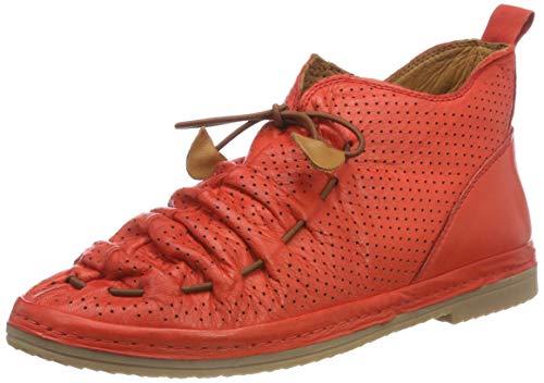 Sneaker Rosso Damen Manitu Donna Rot Stiefelette P4nqZ