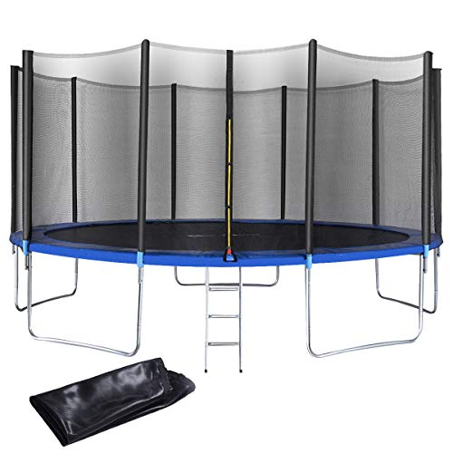 Top 10 Outdoor Trampolines With Safety Enclosure Of 2019
