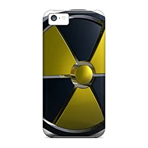 LJF phone case Series Skin Case Cover For Iphone 5c(radiation Hazard)
