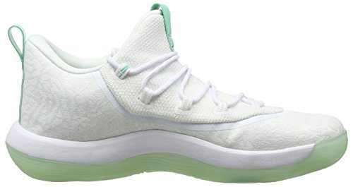 fly Basket Super Rise 117 emerald Uomo Low white Bianco black Da 2017 Nike Jordan Scarpe 0ExU1U