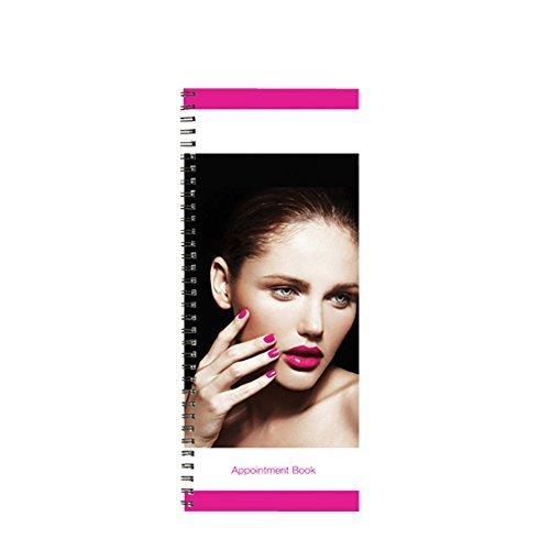 Column Appointment Book (BURMAX Salon Beauty Hair DL Pro 2 Column Appointment Book BK-DLC202)