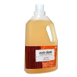 Amazon Com Zum Clean Laundry Soap Patchouli 64 Fluid