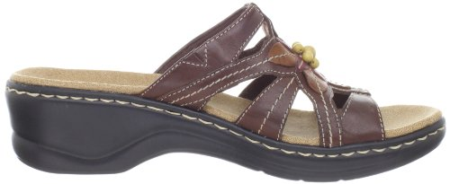 Clarks Womens Lexi Myrtle Sandal,Brown,9 XW US