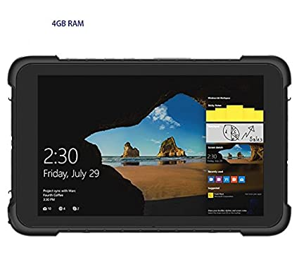 Kcosit K86H Rugged Windows Tablet PC 4GB RAM 64GB ROM IP67