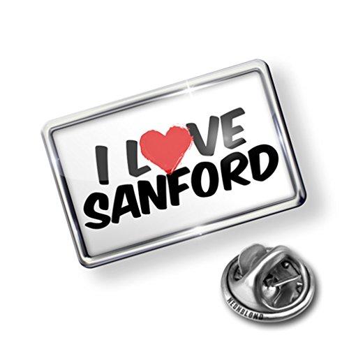 Pin I Love Sanford - Lapel Badge - ()