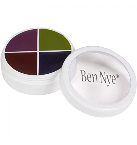 Ben Nye Color Wheel BRUISES (2 sizes available) (F/X Color Wheel CK-1 (5I1 .5oz)) (Bruise Colors)