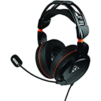 Turtle Beach Elite Pro Tournament Over-Ear 3.5mm Wired Gaming Headphones (Black)