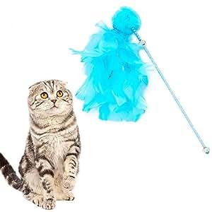 Enjoyyourselves- Teaser y Ejercicio para el Gato y Gatito del Juguete del Gato Apto para la Vida para Mascotas: Amazon.es: Productos para mascotas