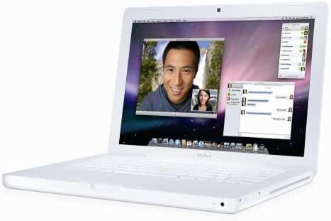 Apple Macbook A1181 Macbook4,1 MB402LL/A, 2.4GHz Intel Core 2 Duo T8100, 120GB Hard Drive, 1GB RAM Memory (Early 2008)